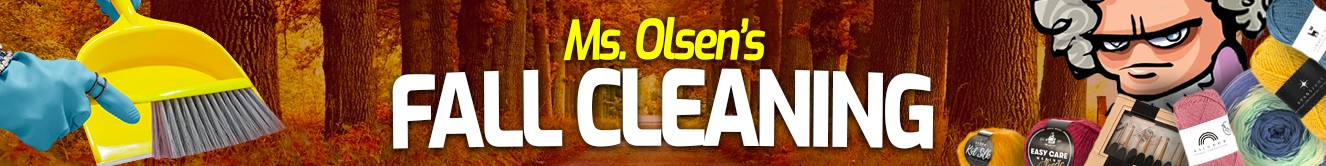 Ms. Olsen's Fall Cleaning